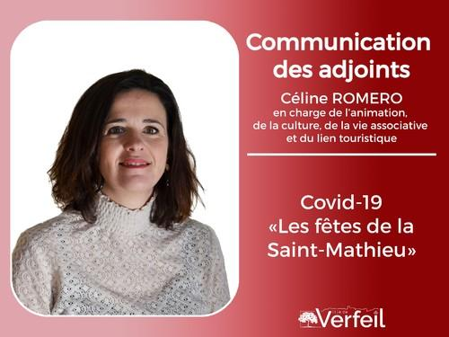 Communication des adjoints